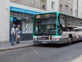 Bus 88, station Cauchy