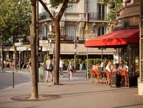 Cafés, place Javel
